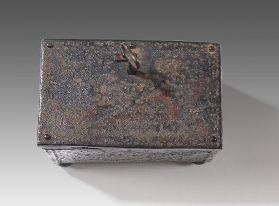 Franz Marc - Bemaltes Eisenkästchen - Weitere Abbildung