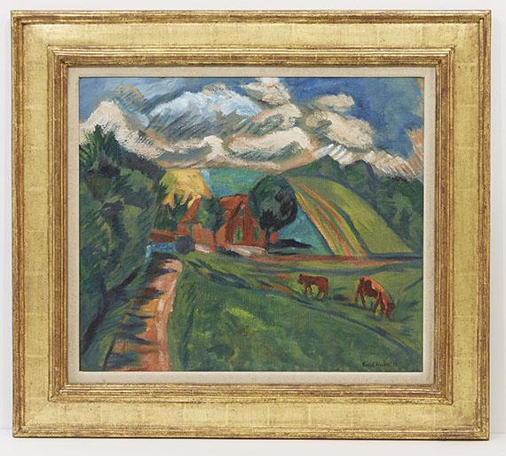 Erich Heckel - Hügellandschaft - Frame image