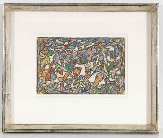 Adolf Hölzel - Lichter Dschungel - Rahmenbild