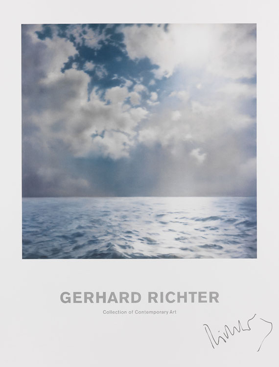 Gerhard Richter - Seestück (Gegenlicht)