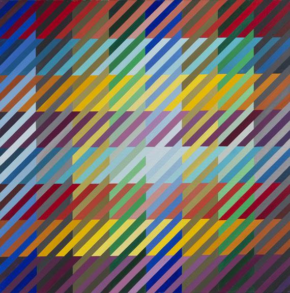 Anton Stankowski - 64 Farben begegnen sich