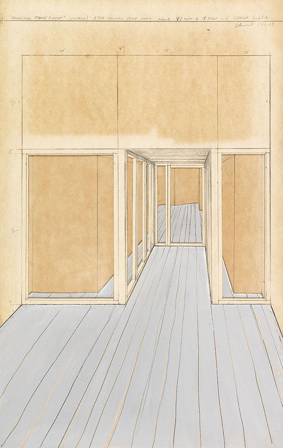 Christo - Corridor Store Front, Project