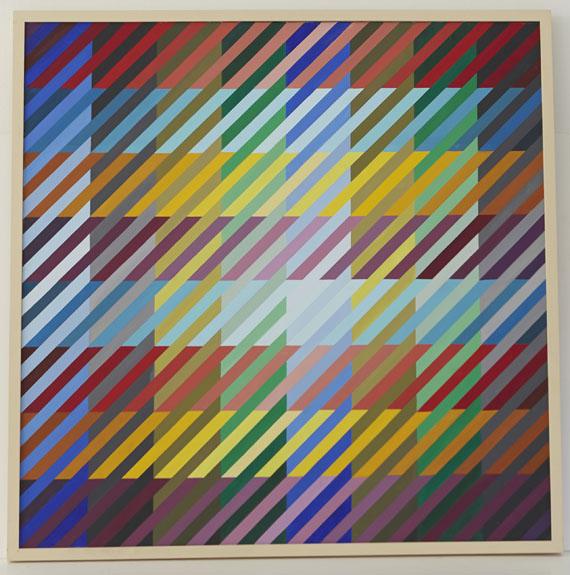 Anton Stankowski - 64 Farben begegnen sich - Frame image