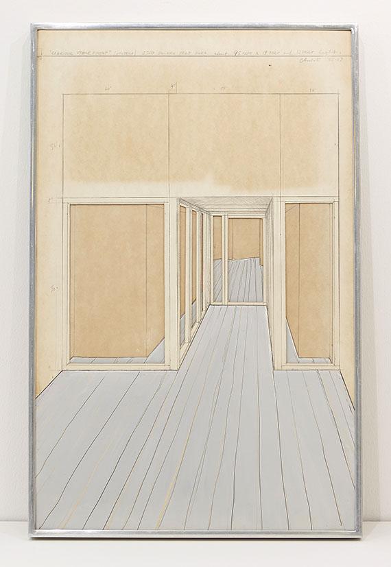 Christo - Corridor Store Front, Project - Rahmenbild