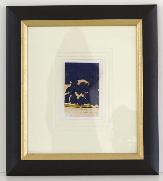 Gerhard Richter - Ohne Titel - Frame image