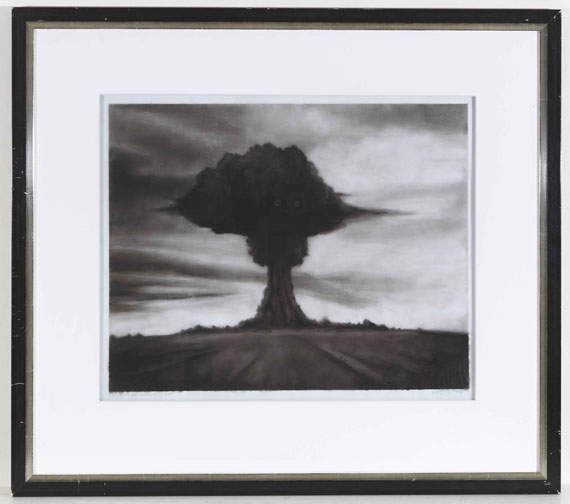 Robert Longo - Study for Joe, Russian bomb Test - Rahmenbild