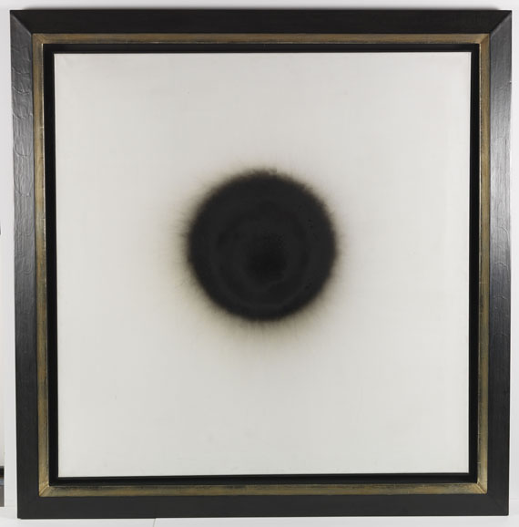 Otto Piene - Dynamisches Volumen - Rahmenbild