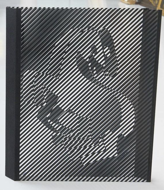 Victor Vasarely - Zèbres - Back side