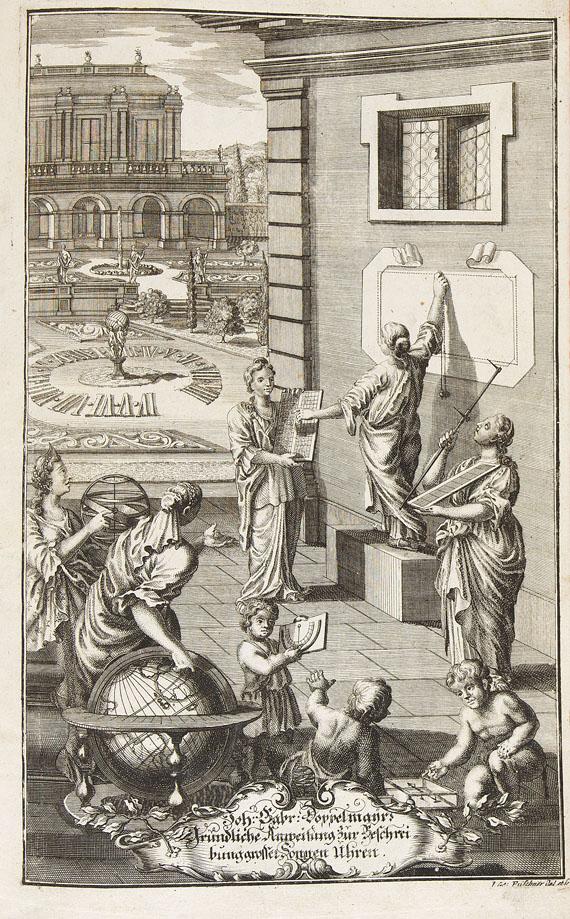 Johann Gabriel Doppelmayr - Neue und gründliche Anweisung...