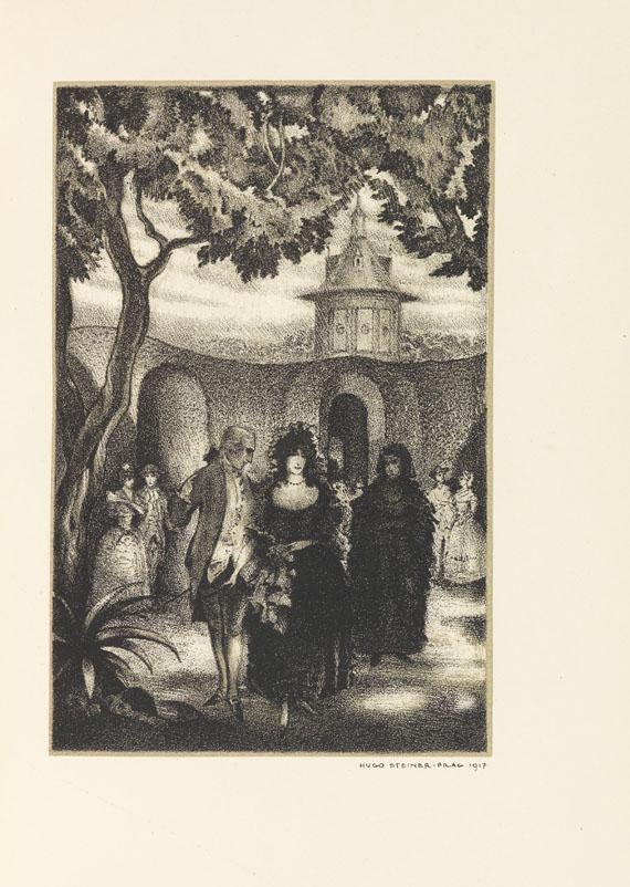 Hugo Steiner-Prag - Goethe, Johann Wolfgang von, Clavigo