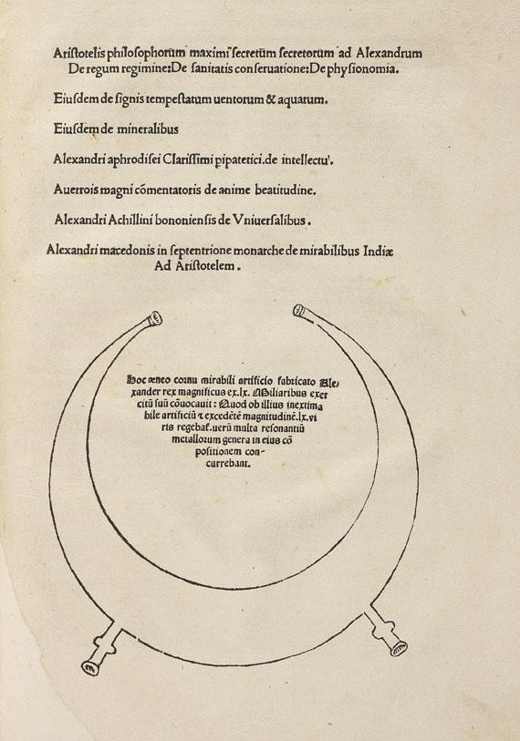 Aristoteles - Secretum secretorum