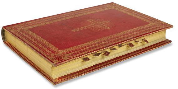 Einbände - Missale romanum. 1823