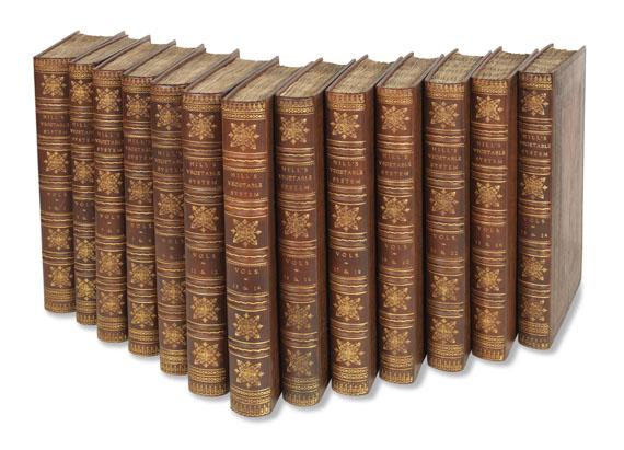 John Hill - Vegetable System. 13 Bde. 1775. - Weitere Abbildung