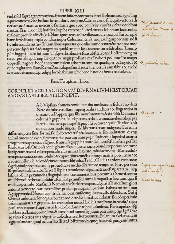 Cornelius Tacitus - Historiae Augustae