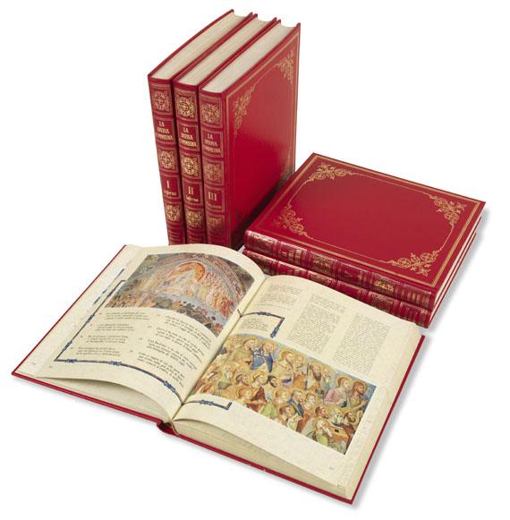Dante Alighieri - La divina commedia. 6 Bde.