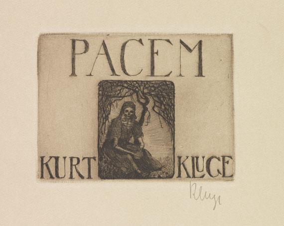 Kurt Kluge - Pacem