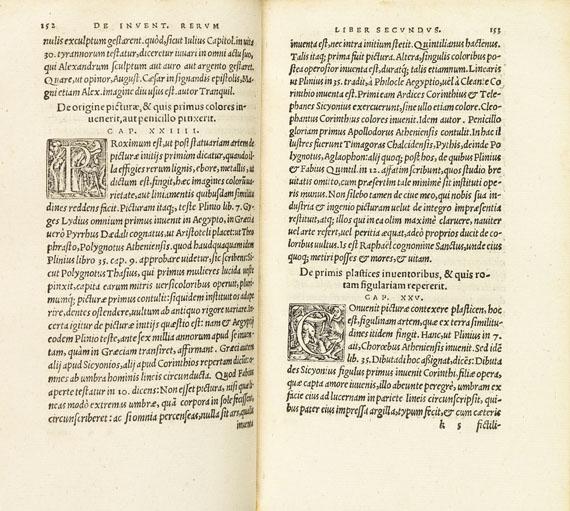 Vergilius Polydorus - De rerum inventoribus. 1540.