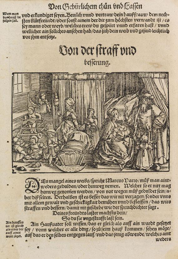 Johann Ludwig Vives - Von gebirliche Thun und Lassen