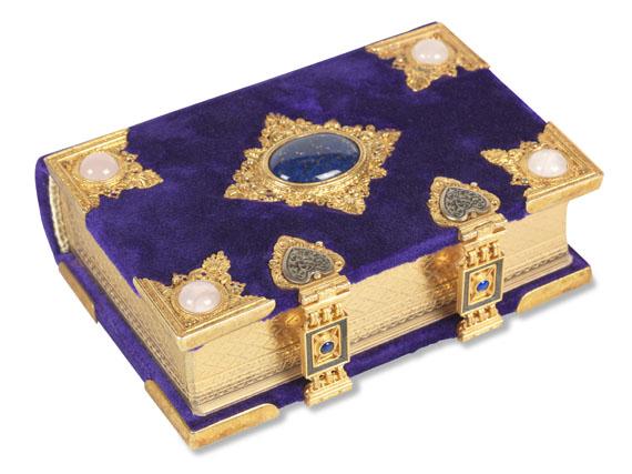 Florentiner Stundenbuch - Faks., Das Florentiner Stundenbuch. 2 Bde.