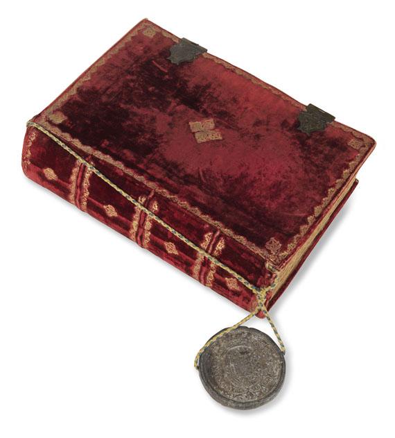 Manuskripte - Carta executoria. (Span. Handschrift auf Papier)
