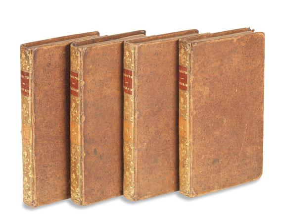Johann Wolfgang von Goethe - Schriften. 1775-79. 4 Bde.