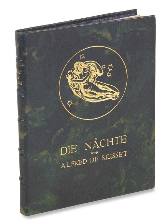 Alfred de Musset - Die Nächte. Illustr. von Christian L. Martin