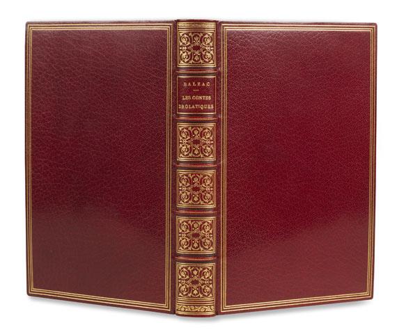 Honoré de Balzac - Les Contes Drolatiques. 1855