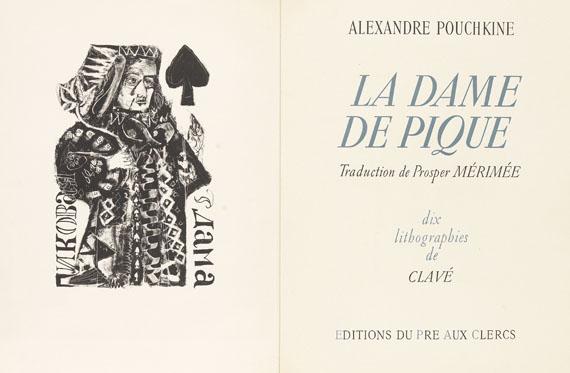 Antoni Clavé - La dame de pique