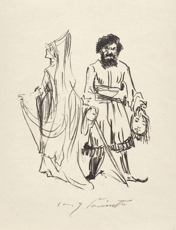 Lovis Corinth - Fünfzehn Lithographien zu Die Frau Konnetable