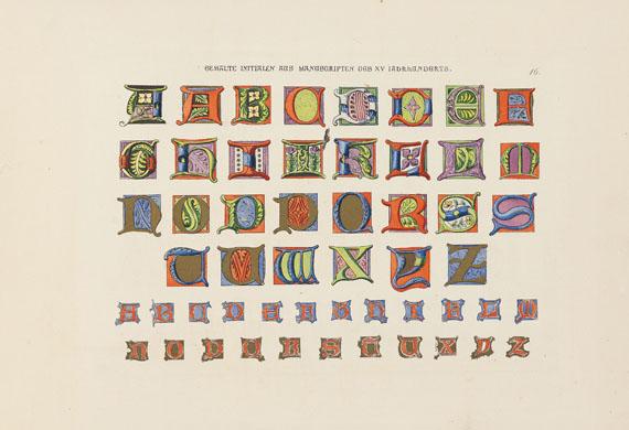 Johann Georg Brandt - Alphabete und Schriftmuster