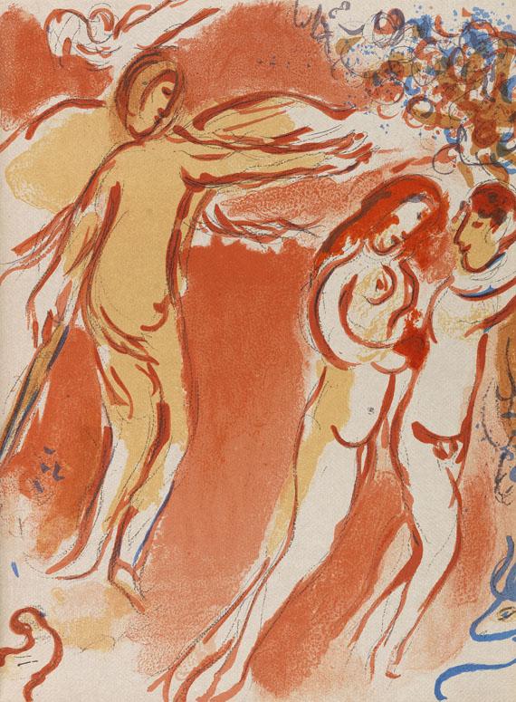 Marc Chagall - Verve, Dessins pour la Bible. Vol. 37-38