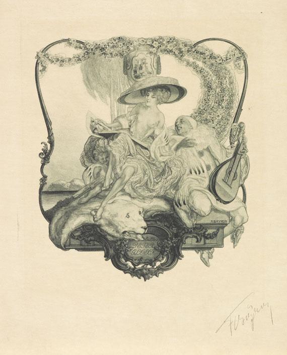 Franz von Bayros - Ex-Libris. 3. Folge