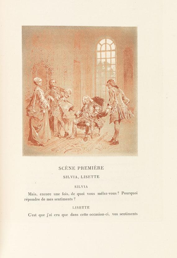 P. Carlet de Marivaux - Le Jeu de l'Amour