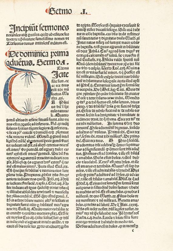 Petrus de Palude - Sermones Thesauri novi de tempore