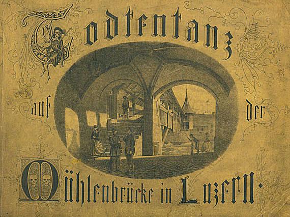 Gaspard Meglinger - Todtentanz. 1867.