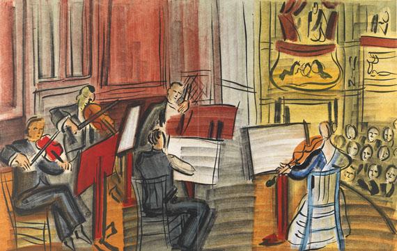 Raoul Dufy - Concert des anges