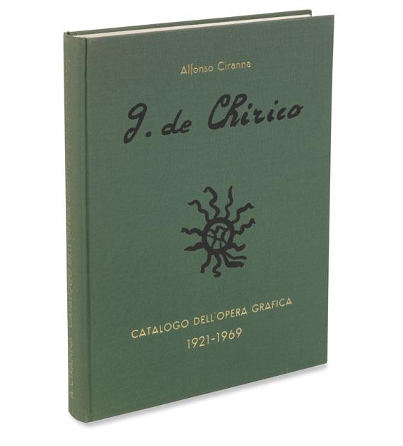Alfonso Ciranna - Giorgio de Chirico, Catalogo delle opere grafiche