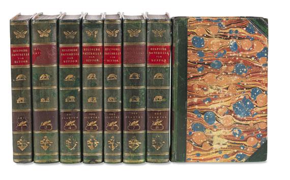 Georges Louis Lerclerc Buffon - Mirbel, Histoire naturelle. 8 Bde. 1802-04