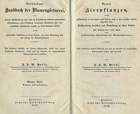 Land- und Hauswirtschaft - Forst und Garten. 17 Bde.