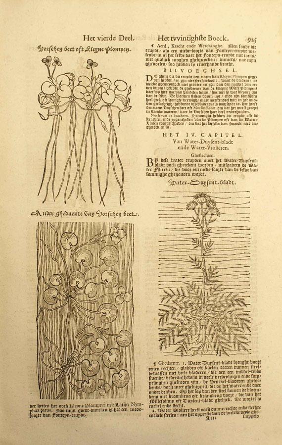 Rembertus Dodonaeus - Crydt-Boeck. 1644