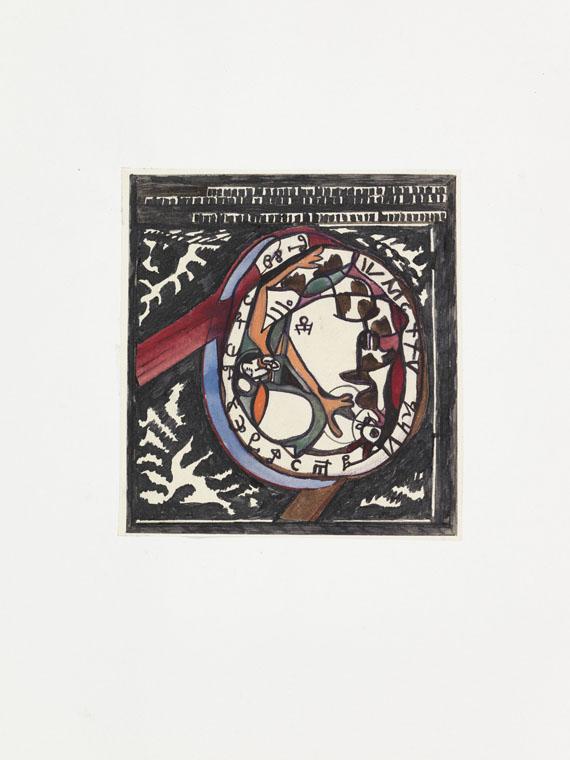 """Alexei Michailowitsch Remisow - Sammlung zu """"Les sceaux"""". 1956 - Weitere Abbildung"""