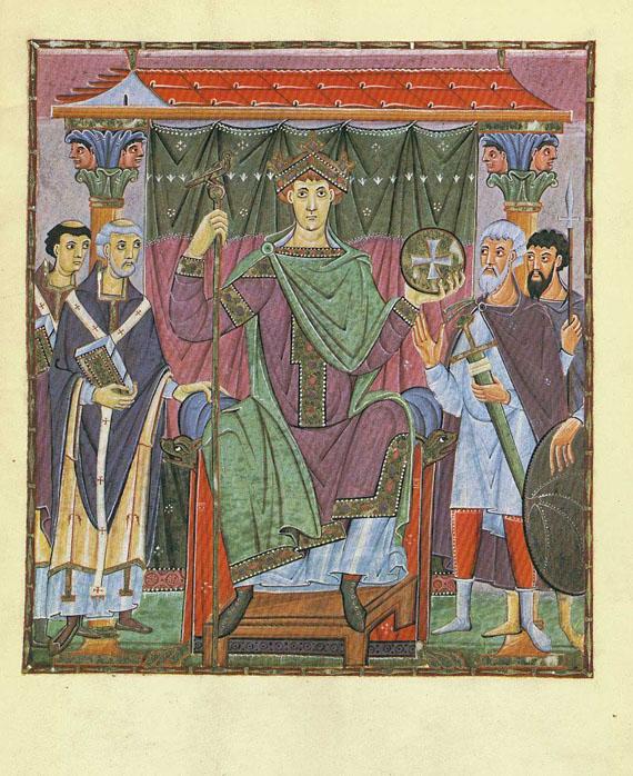 Evangeliar Otto III. - Evangeliar Otto III. 2 Bde.