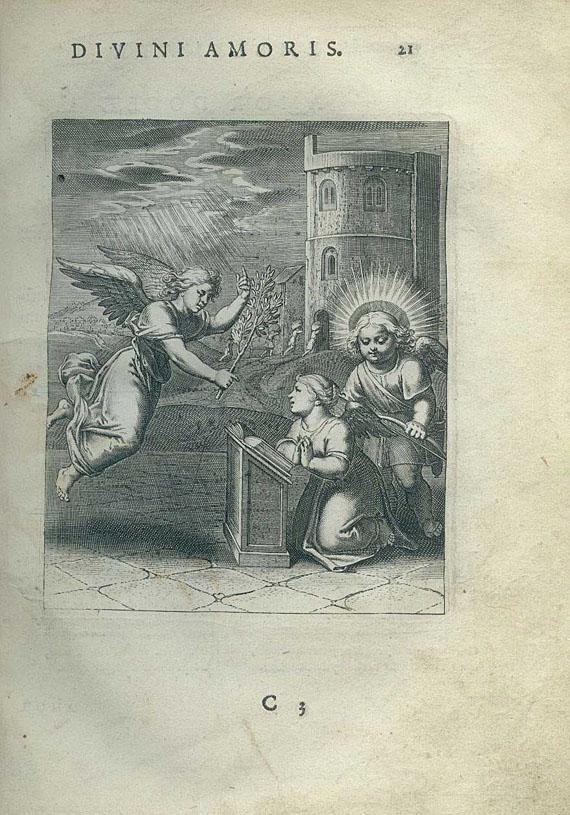 Emblemata - Vaenius, Otto, Amoris Divini emblemata.