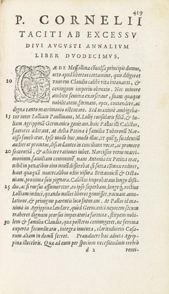 Cornelius Tacitus - Historiarum et annalium libri qui exstant