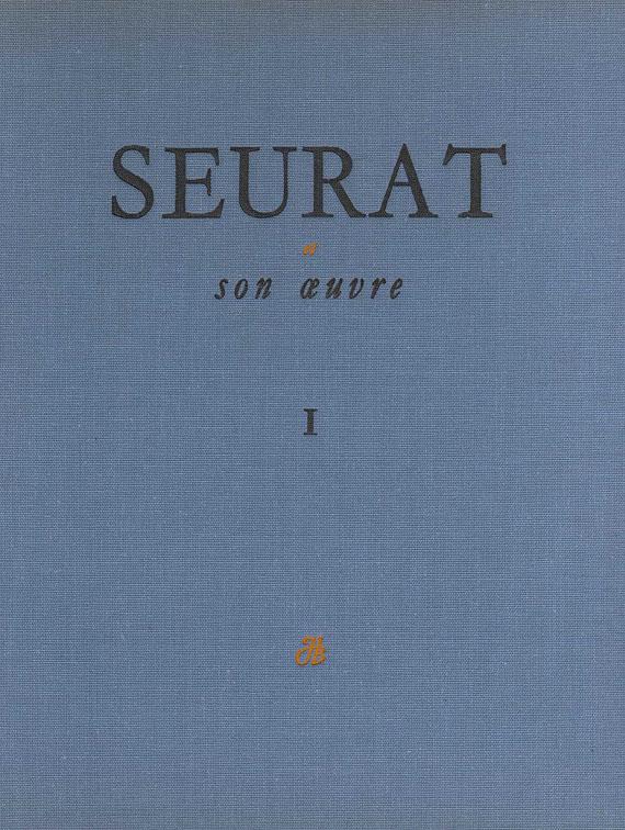 Georges Seurat - Hauke, Cesar M. de, Seurat et son oeuvre. 2 Bde.