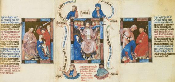 Biblia Pauperum - Biblia Pauperum. Dabei: Kommentar