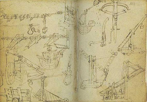 Skizzenbuch des Francesco di Giorgio Martini - Skizzenbuch des Francesco di Giorgio Martini