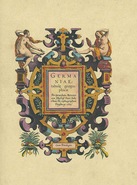 Gerard Mercator - Atlas