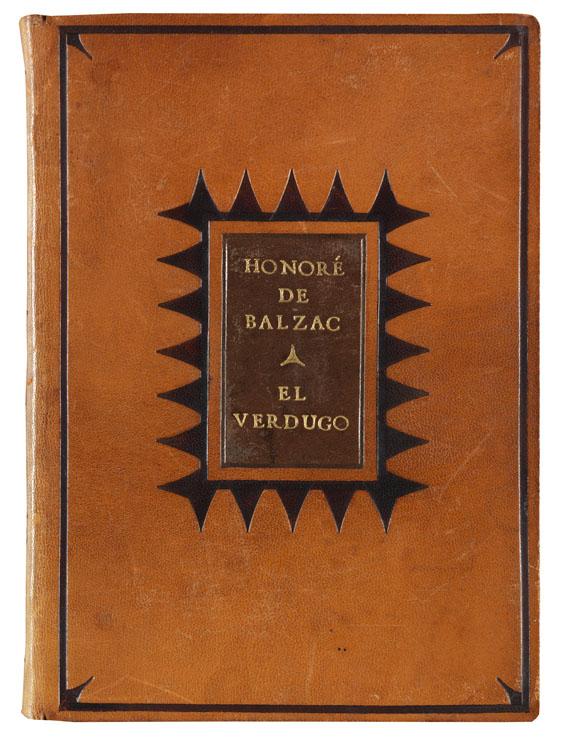 Euphorion-Drucke - Balzac, Honoré de, El Verdugo