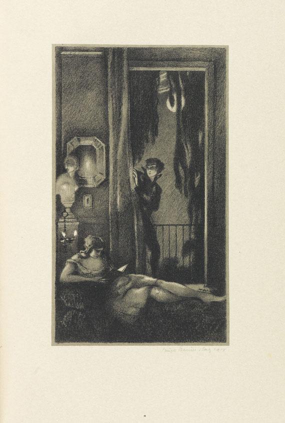 Hugo Steiner-Prag - Lenau / Hammerstein. 1918. 2 Tle.
